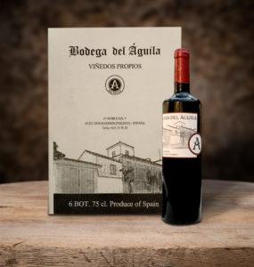 Vinos de calidad. Vino Tinto Reserva Bodega Del Águila
