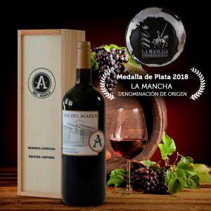 Premio Medalla de Plata en el concurso Denominación de Origen La Mancha