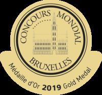 Medalla de Oro Consurso Munidal de Bruselas
