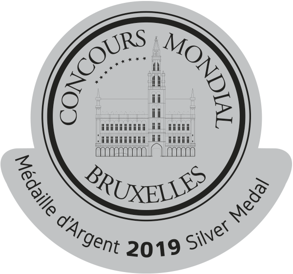 Medalla de Plata Consurso Munidal de Bruselas