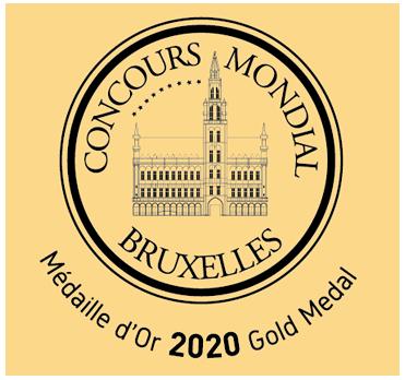 Concours Mondial Bruxelles Medalla de Oro 2020